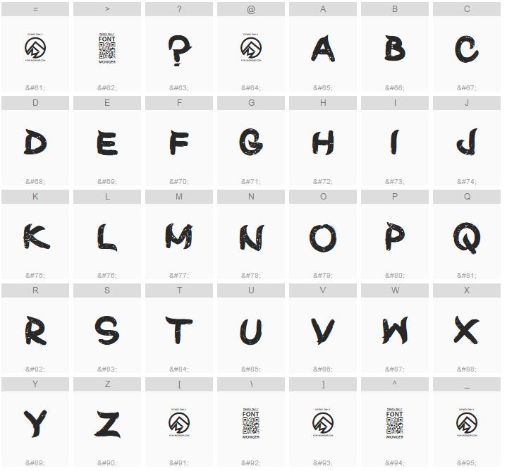 Shun Set Font