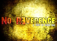 No R3verence Font