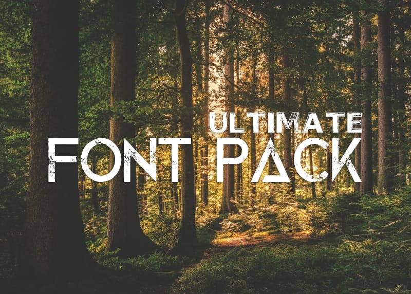 Professional Font Bundle