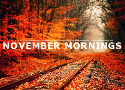 November Mornings Font