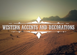 Western borders and accents